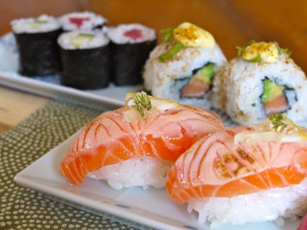 Cooking class (sushi)
