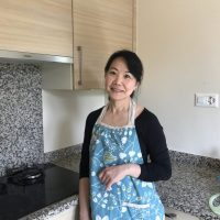Akiko - in my kitchen at home